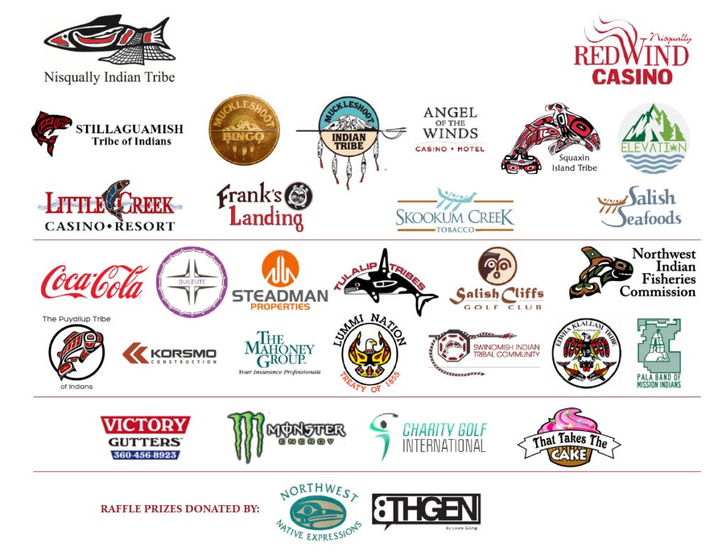 2016 Billy Frank Classic sponsor logos