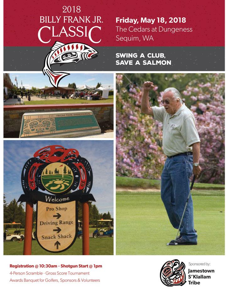 2018 Salmon Defense Golf Tournament Flyer