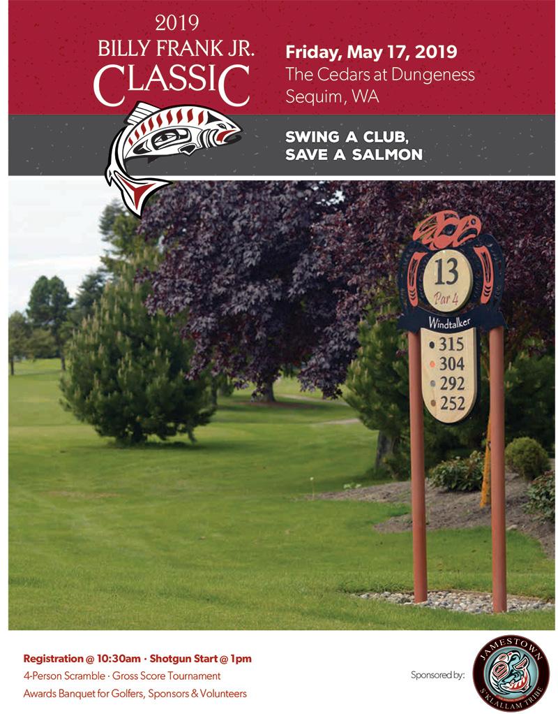 2019 Salmon Defense Golf Flyer