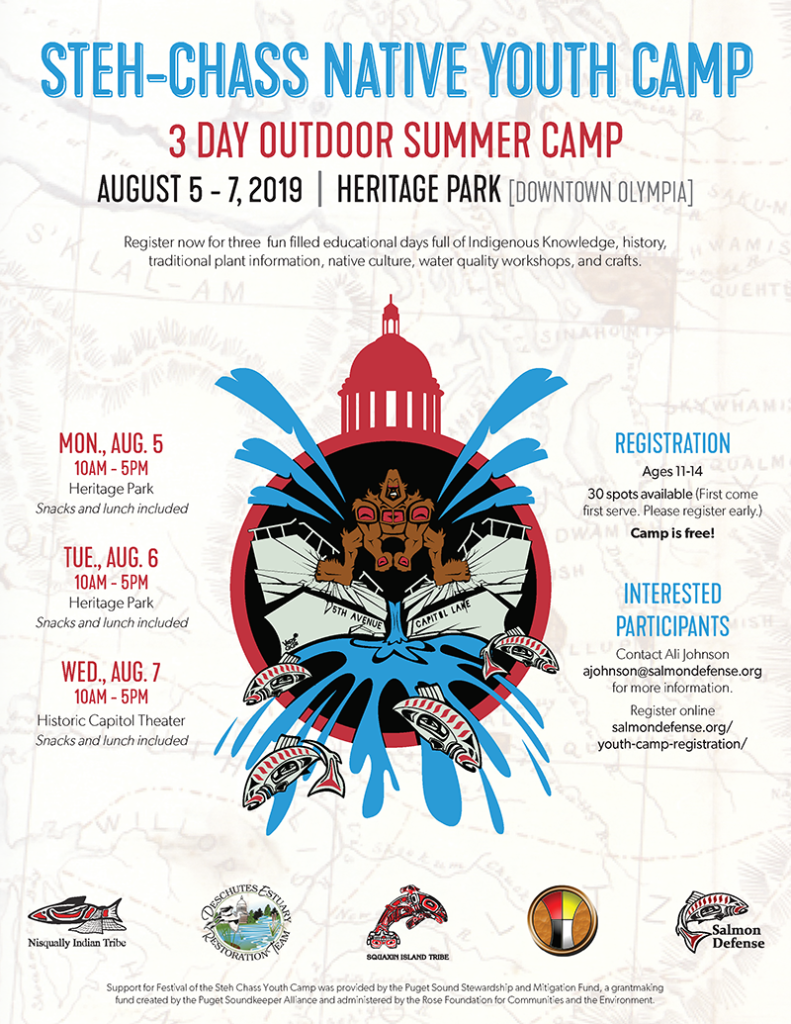 2019 Steh-Chass Youth Camp Flyer