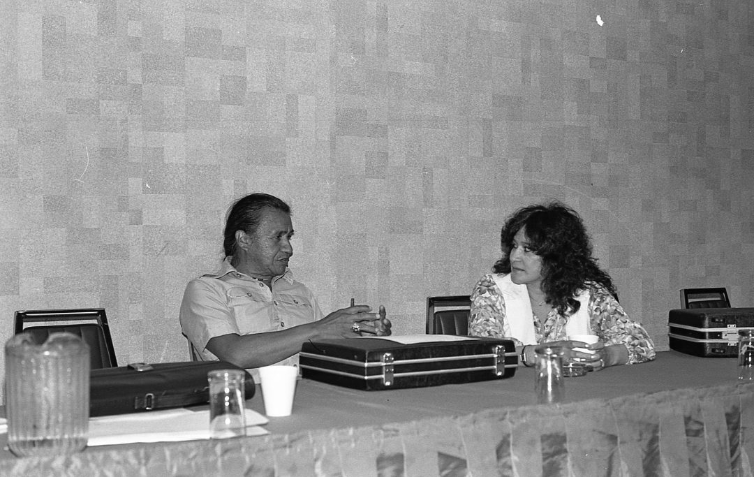 Lorraine and Billy Frank Jr